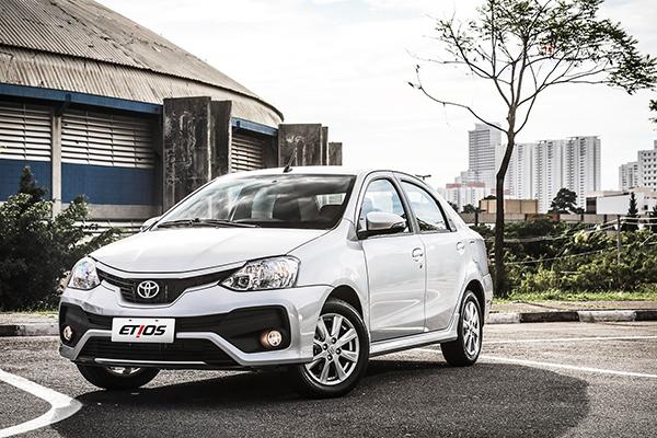 Toyota inova com o lançamento em janeiro do Etios 2018