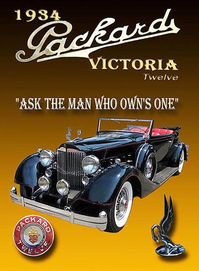 Anúncio do Fit repete o da Packard, criado em 1901
