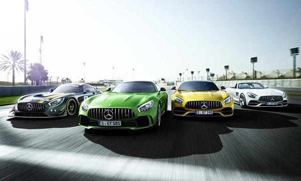 Mercedes-AMG GT: linha 2017 dos bólidos alemães