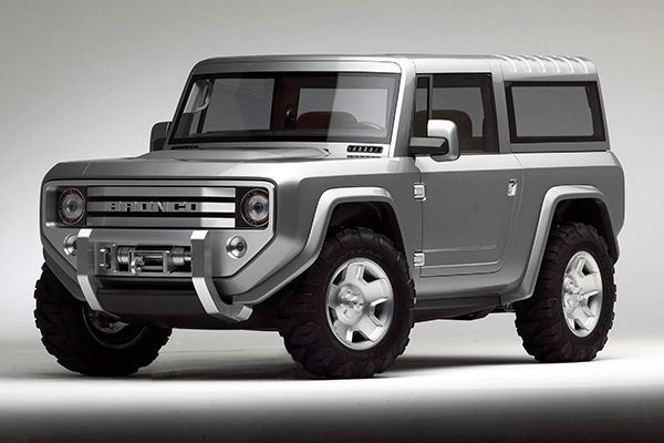 Ford Bronco: voltando aos poucos