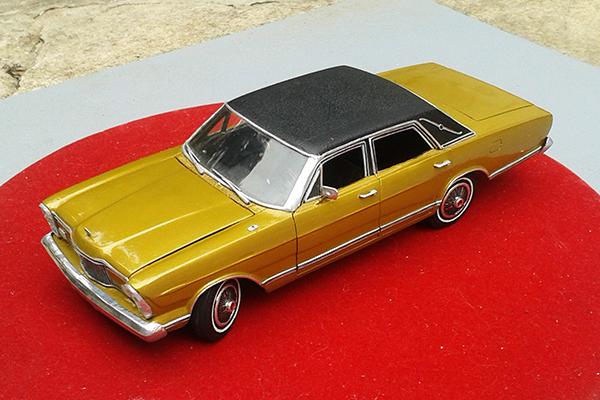 1973: LTD Landau continua em linha sem grandes alterações
