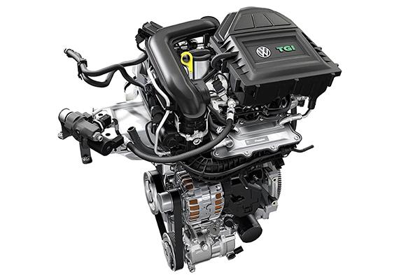 Novo motor da VW que queimará gasolina e GNV