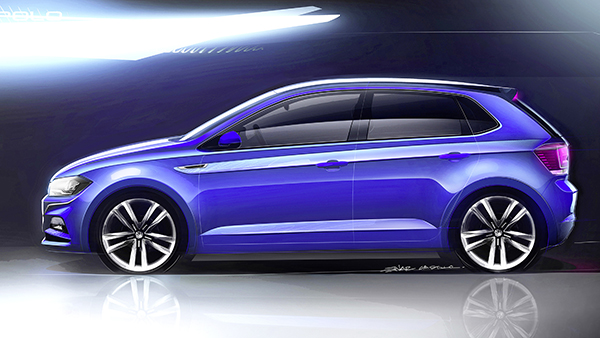 Novo Polo: chegando em setembro (Foto: Divulgação VW)