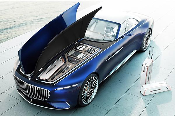 """Quase pronto, conceito Mercedes-Maybach Vision 6 é do tipo """"chegou, está chegado!"""""""
