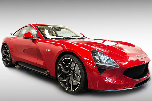 TVR Griffith, a surpresa inglesa