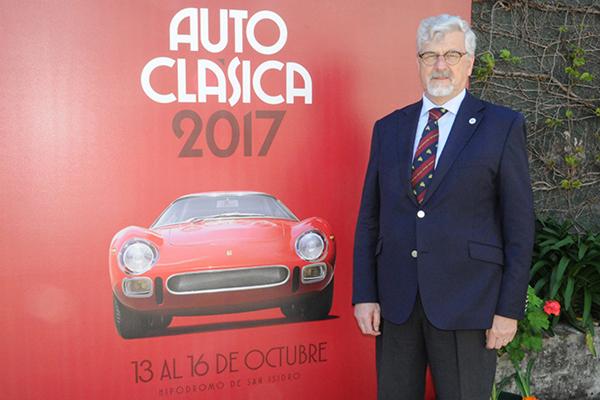 Guillermo Viacava, organizador da Autoclasica