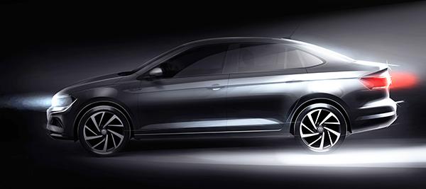Sedã compacto VW Virtus: chegando em janeiro próximo
