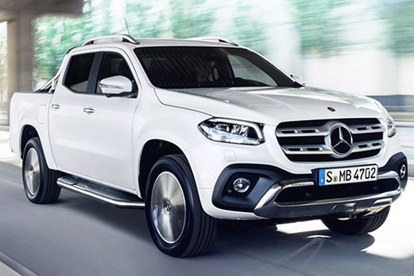 Classe X, a nova picape Mercedes-Benz chega em 2019