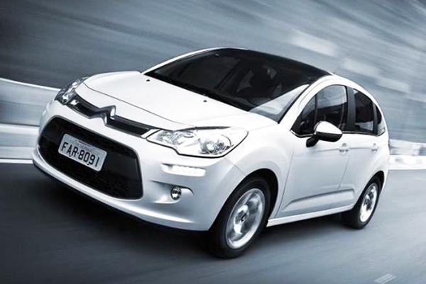 Citroën cresce no valor de revenda