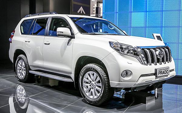 Toyota Prado ou Land Cruiser: chegando novamente