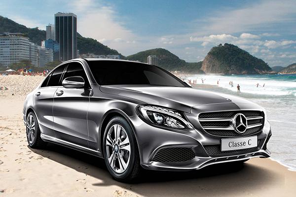 Mercedes Classe C, mais vendido entre os importados Premium