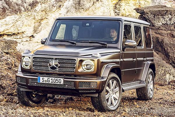 Mercedes Classe G inicia novo ciclo