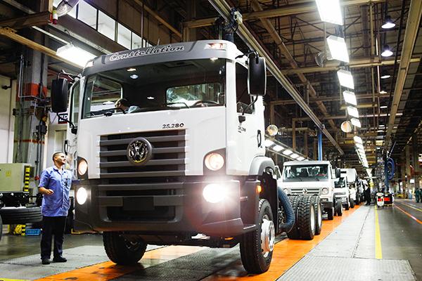 Caminhões MAN: 900 mil unidades