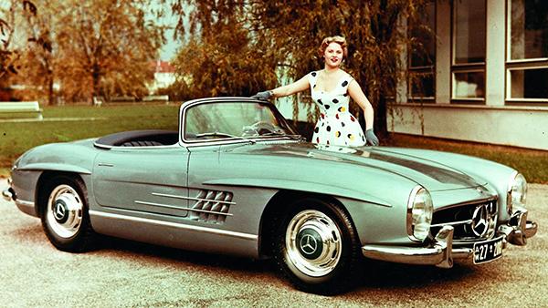 Mercedes SL Roadster: revendedor mudou a história