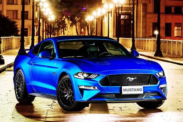 Ford Mustang, agora importado ao Brasil