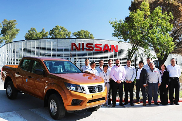 Nissan Frontier: primeira corrida industrial na Argentina