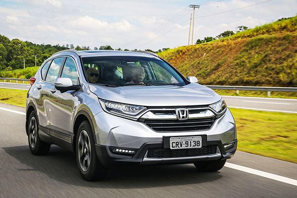 Honda CR-V de 5ª geração chega por R$ 179.900