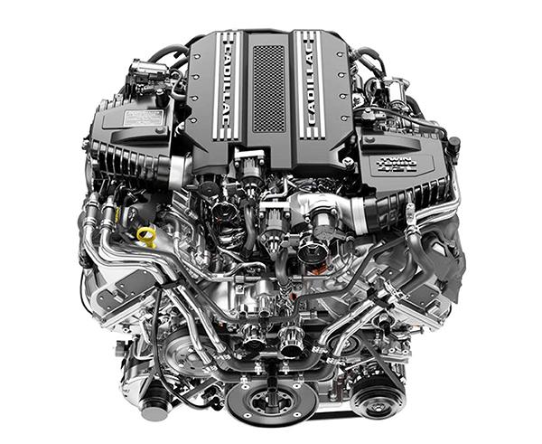 Motor Cadillac: V8/4.0, dois turbos e 550 cv