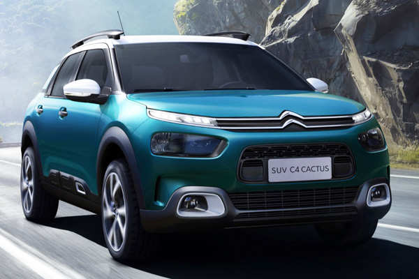 Citroën C4 Cactus: chegando em setembro