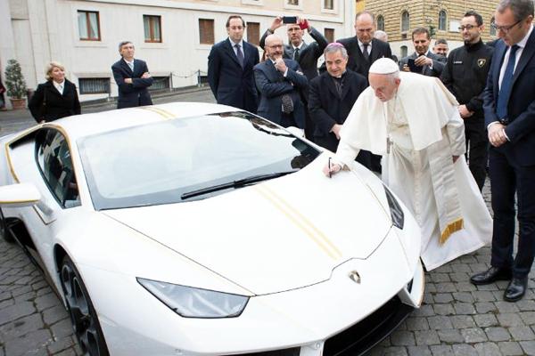 Lamborghini papal à venda