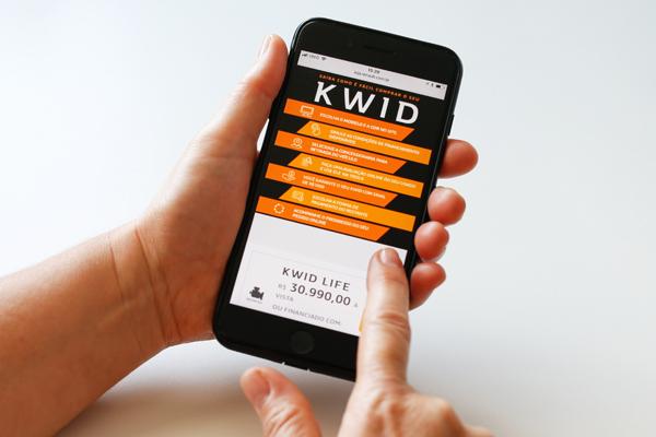 Novo caminho: compra do Kwid sem ir ao concessionário
