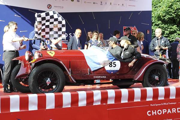 Tonconogy, Ruffini e Alfa: vencedores da Mille Miglia Storica