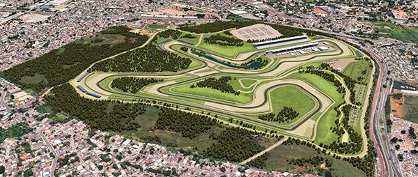 Projeto do novo autódromo carioca