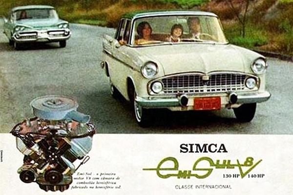 O Simca, carro que precisou da ajuda de um anão no porta-malas para resolver uma falha de engenharia!