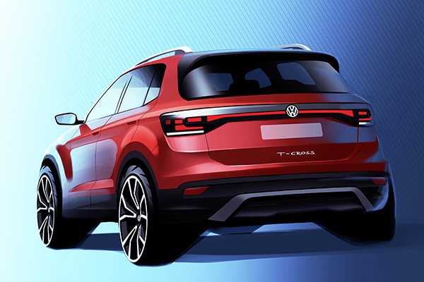 VW T-Cross, logo mais por aqui