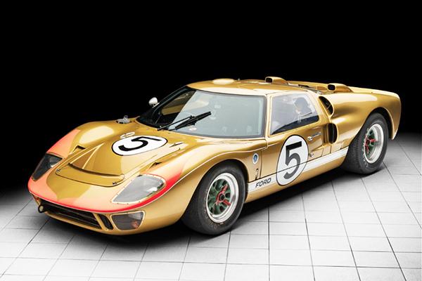 Ford GT 40, o carro que deu trabalho à Ferrari em Le Mans