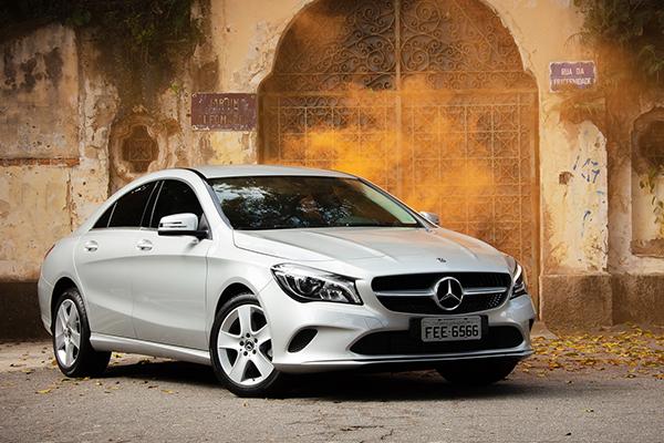 Com ampla folga, Mercedes-Benz CLA 180 lidera o segmento
