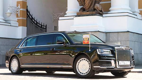 Auris Senat, a limousine do russo Putin