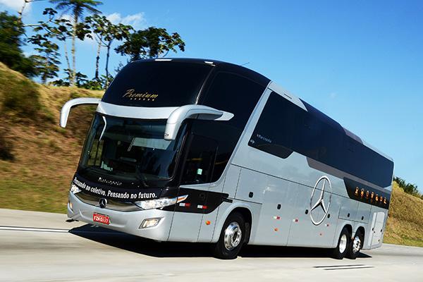 Equipamentos de segurança migraram para os ônibus Mercedes