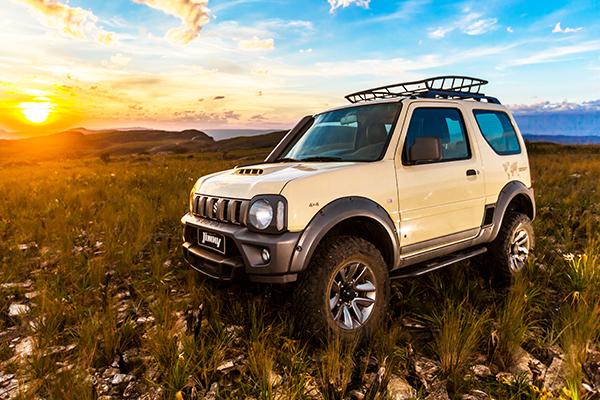 Suzuki especial Desert: deveria ter outro nome…