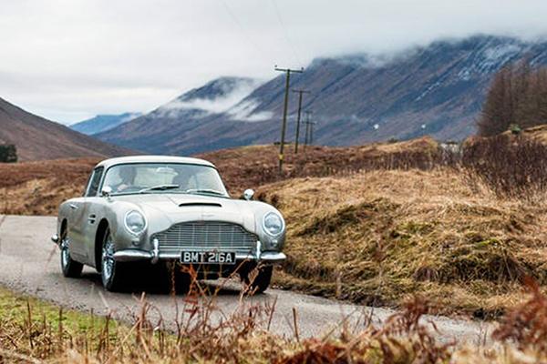 O britanicamente belo Aston DB5 1964 terá série especial