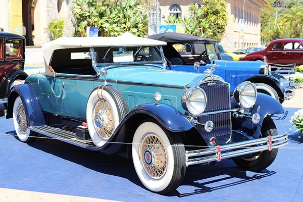 Packard 1931 em carroceria roadster: ´Best of Show´ em Araxá 2018