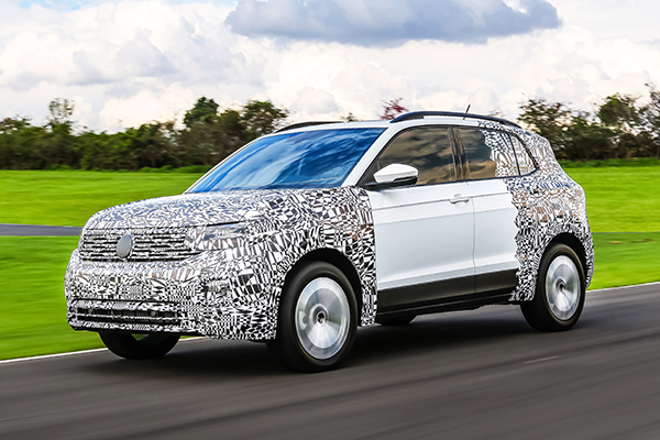 VW T-Cross: para agradar às mulheres
