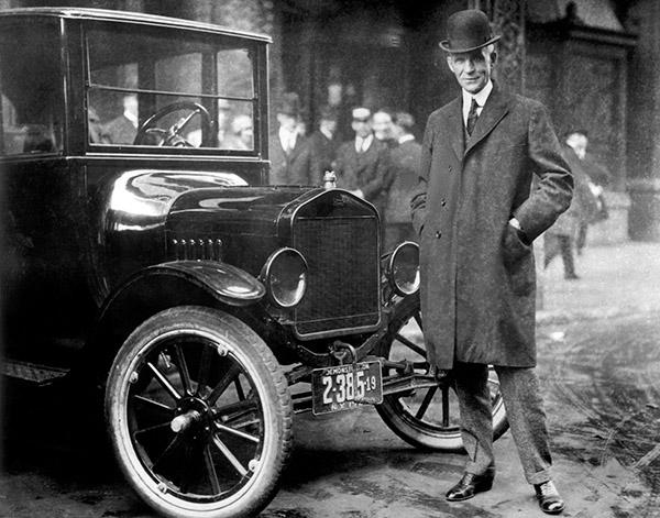 Ford T, criatura. Henry Ford, o criador